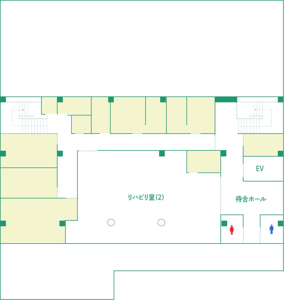 2階の簡略図